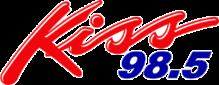 Kiss 98.5 logo