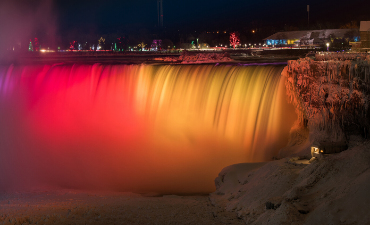 Niagara Falls Illuminations Winter Festival Of Lights