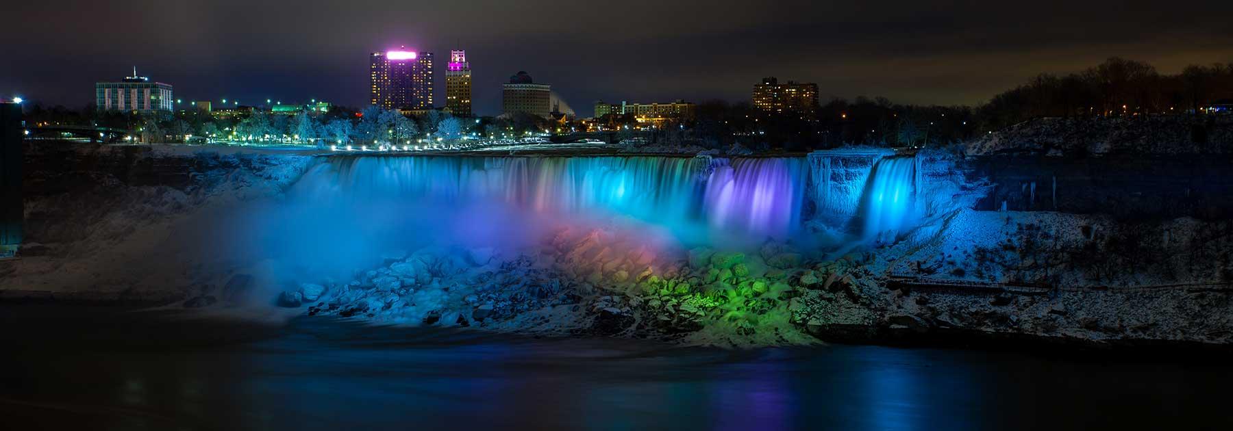 Niagara Falls Illuminations Winter Festival Of Lights