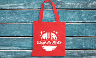 Deck the Falls bag