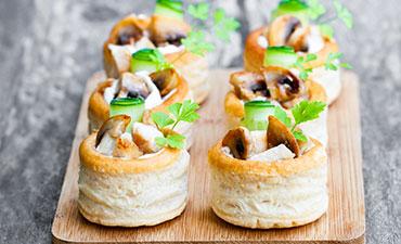 Mushroom Fricassee
