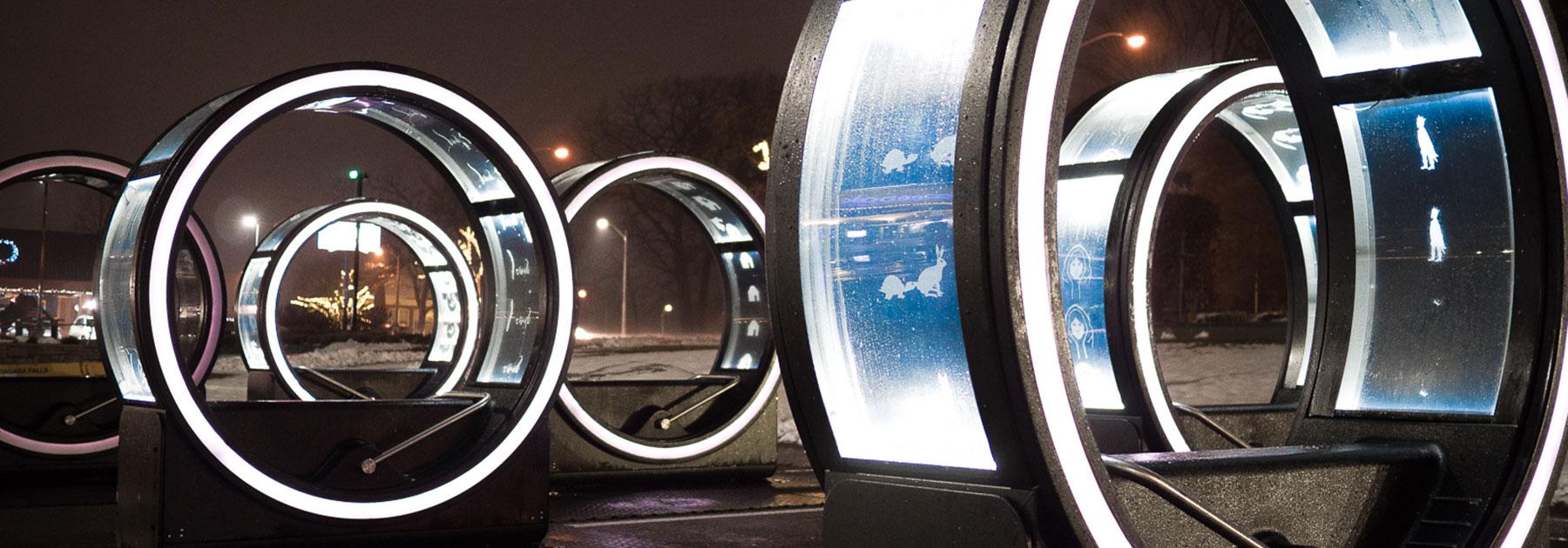 The Loop Illumination Display